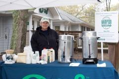 Hampton Coffee Company donated the java!