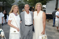 Barbara Mattson, Robert Kohr, Laurie MacGarba==Animal Rescue Fund of the Hamptons Bow Wow Meow Ball==Animal Rescue Fund Of The Hamptons, Wainscott, NY==August 20, 2016==©Patrick McMullan==Photo - Owen Hoffmann/PMC== ==