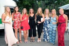 Cathrine Isom, Abby Donaldson, Caroline Hayes, Alona McCarthy, Georgina Hudsons, Ellie Hamilton, Claire Brahiny, Jane Warnock==Animal Rescue Fund of the Hamptons Bow Wow Meow Ball== Animal Rescue Fund Of The Hamptons, Wainscott==August 20, 2016==©Patrick McMullan==Photo: PatrickMcMullan/PMC====