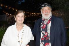 Honorees Nan Bush and Bruce Weber, photo by Lisa Tamburini