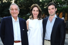 Peter Duchin, Virginia Coleman, John Coleman==Animal Rescue Fund of the Hamptons Bow Wow Meow Ball==ARF, Wainscott, NY==August 15, 2015==©Patrick McMullan==Photo - Owen Hoffmann/PatrickMcMullan.com====