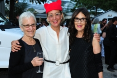 Amy Sullivan, ?, Susan Penzner==Animal Rescue Fund of the Hamptons Bow Wow Meow Ball==ARF, Wainscott, NY==August 15, 2015==©Patrick McMullan==Photo - Owen Hoffmann/PatrickMcMullan.com====