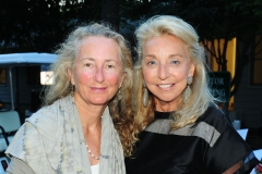 Priscilla Rattazzi, Eleanora Kennedy==Animal Rescue Fund of the Hamptons Bow Wow Meow Ball==ARF, Wainscott, NY==August 15, 2015==©Patrick McMullan==Photo - Owen Hoffmann/PatrickMcMullan.com====