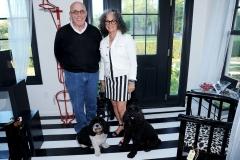 Charles Gold, Peri Wolfman==Animal Rescue Fund (ARF) Designer Showhouse==ARF Thriftshop, NY==May 30, 2015==©Patrick McMullan==Photo - Owen Hoffmann/PatrickMcMullan.com====
