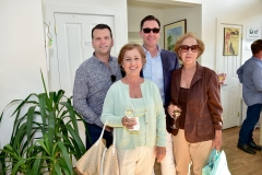 Michael Breault, Norma Gullace, Gordon Hoppe, Lucy Gullace== Animal Rescue Fund of the Hamptons 6th Annual Thrift Shop Designer Showhouse== ARF Thrift & Treasure Shop, New York== May 28, 2016== ©Patrick McMullan== Photo-Sean Zanni/PMC==