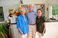 Sandra Powers, Alan MacDonald, Christina MacDonald== Animal Rescue Fund of the Hamptons 6th Annual Thrift Shop Designer Showhouse== ARF Thrift & Treasure Shop, New York== May 28, 2016== ©Patrick McMullan== Photo-Sean Zanni/PMC==
