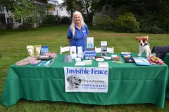 Event sponsor, Invisible Fence by Canine Control.