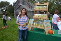 The crowd enjoyed samples from South Fork Pet Company, another event sponsor.