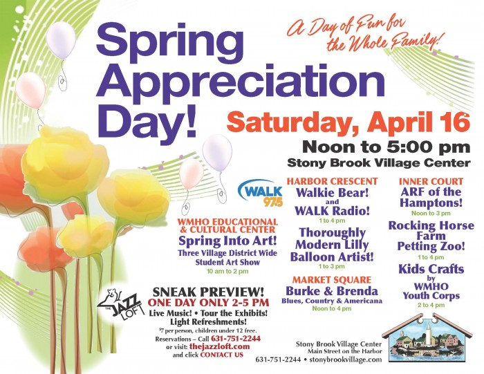 Spring-Appreciation-Day-2016_Stony-Brook-Village-Center-1