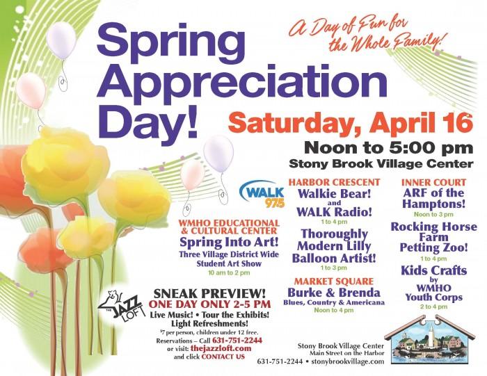 Spring-Appreciation-Day-2016_Stony-Brook-Village-Center-1